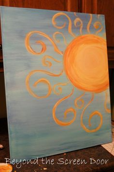 you are my sunshine painting - Google Search