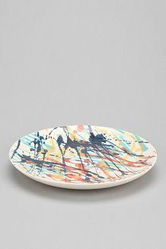 Magical Thinking Drop Cloth Salad Plate
