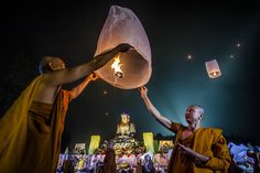Although Buddhism is unlike any other religion (in that it does not require belief in a deity), it's still got some of the classic markers — and the celebration of holidays is one of them. So here, as part of our Holiday Cheat Sheet, is a brief rundown on one of the most important holidays in the Buddhist world: Vesak Day.