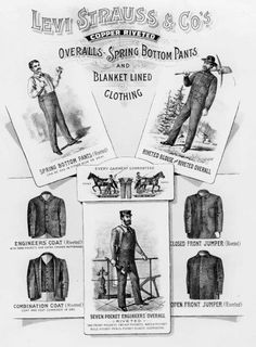 Levi Strauss & Co. Advertising, c.1895