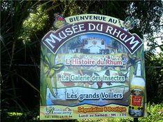 Distillerie Reimonenq, le musée du rhum en guadeloupe Death In Paradise, French West Indies, Shop Signs, Vacation Trips, Caribbean, Tropical, Islands, Dreams, Tents