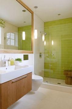 Creative Bathroom Tile Design Ideas - Tiles For Floor inside Bathroom Color Ideas With Brown Tile - Best Home & Party Decoration Ideas Bathroom Feature Wall Tile, Bathroom Wall Colors, Small Bathroom Tiles, Bath Tiles, Bathroom Tile Designs, Brown Bathroom, Simple Bathroom, Bathroom Interior Design, Bathroom Ideas