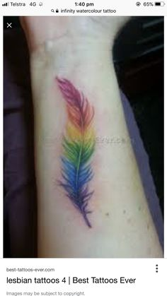 Amazing Inspo for Girls Who Want a Pride Tattoo 🌈🖊 . Amazing Inspo for Girls Who Want a Pride Tattoo 🌈🖊 . Gay Pride Tattoos, Equality Tattoos, Gay Tattoo, Tattoo Motive, Love Tattoos, Mini Tattoos, Beautiful Tattoos, Body Art Tattoos, New Tattoos
