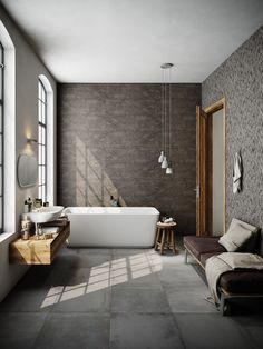 Bedroom Loft, Dream Bathrooms, Modern Bathroom Design, Future House, Bathroom Ideas, Minimalism, Charlotte, Decor Ideas, Construction