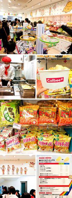 Calbee+ | Tokyo Eats
