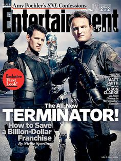 Terminator Genisys: First Look At Matt Smith | Cult Fix.....i cannot WAIT to see this. Matt Smith is one of my favorites <3
