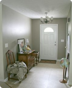 Olivewood by Glidden - This may be the living room and hall color. I am liking it alot