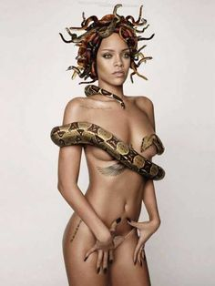 Rihanna nude gq
