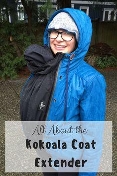 The Kokoala Coat Extension transforms your regular coat into a pregnancy or babywearing jacket.