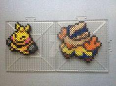Weedle Family - Pokemon perler beads by TehMorrison on DeviantArt Perler Bead Pokemon Patterns, Hama Beads Pokemon, 3d Pokemon, Pokemon Craft, Pearler Bead Patterns, Pokemon Sprites, Pokemon Party, Hama Beads Design, Peler Beads