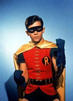 Little Robin. Being a little tough.