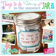 """""""Things to do in the summer; JAR! <3"""" by everygirlhasatip on Polyvore"""