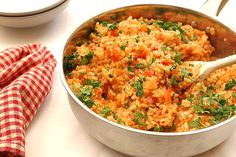 İster acı ister tatlı biberli risotto tam evlere şenlik!