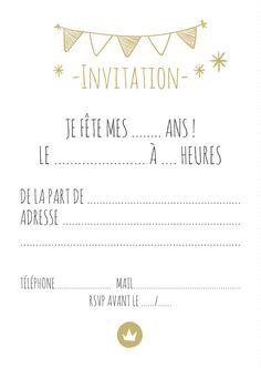 Les jolies invitations d'anniversaire de la maison Albert Papeterie sont à découvrir sur le blog www.papiers-urbains.fr ©Albert Papeterie