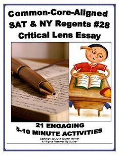 nys regents critical lens essay rubric