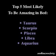 36 Best Zodiac Signs in Bed images | Zodiac signs, Zodiac ...