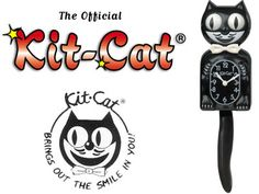I always wanted a Kit-Cat Clock!