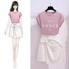 Fashion Drawing Dresses, Fashion Sketches, Skirt Fashion, Fashion Dresses, Kpop Fashion, Korean Fashion, Office Dresses For Women, One Piece Dress, Korean Outfits
