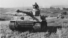 PzKpfw VI Tiger from 2. SS Panzer Division Das Reich in Kursk