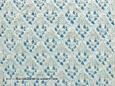 Lace Stitches for Spring 2016 - Pattern 4/10 - Knitting Unlimited