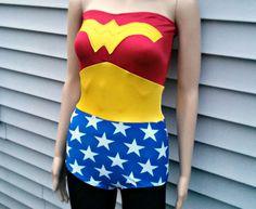 Wonder Romper Woman swimsuit costume Cosplay