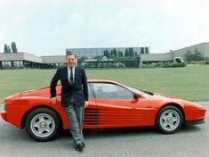 Pininfarina with Ferrari Testarossa