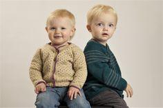 Baby og børne cardigan. Strik selv efter nem opskrift. Kan strikkes i uld eller bomuld.