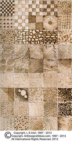 Textura da placa completa pyrography