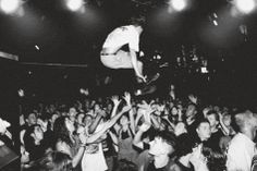 Mosh Pit- Stage Dive Poster