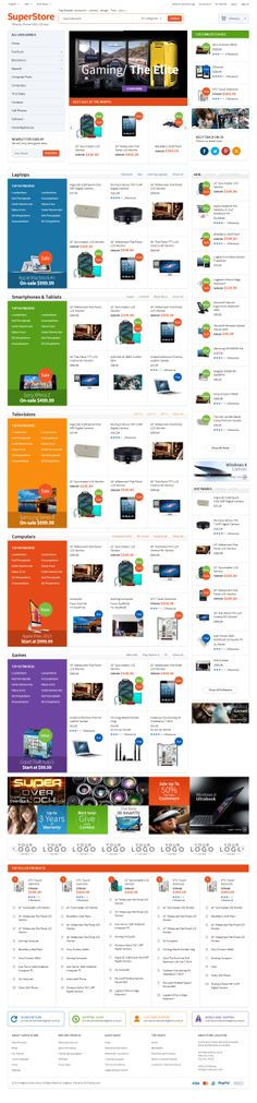 SuperStore is Premium full Responsive Magento Theme. EM Theme Framework. Drag & Drop Mega Menu Builder. Supports multi-stores.