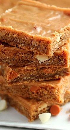 Butterscotch Peanut Butter Bars