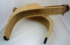 (2) Vintage JAI-ALAI CESTAS Wicker Basket Leather Glove In Very Good Condition
