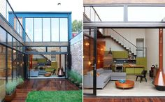 Steves Courtyard House by Mesh Architectures Steves Courtyard House with Great Interior by Mesh Architectures