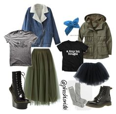 """""""Mommy and mini"""" by wamos on Polyvore featuring P.A.R.O.S.H., Jeffrey Campbell and Dr. Martens"""