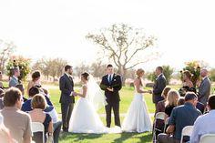 Doube Wedding Outdoor Ceremony   Chico-Double-Wedding-California-Tuscan-Ridge-Golf-Course-Photography