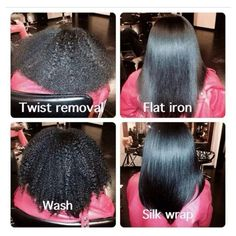 Hair Wrap Silk Oil On Pinterest Tips And Curly Thick