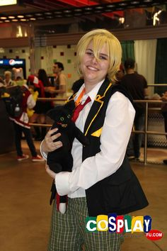 Oz Vessalius Cosplay from Pandora Hearts at Anime Central 2013