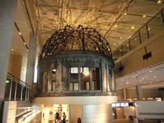 Hiroshima Peace Memorial, Memorial Museum, Chandelier, Ceiling Lights, Display, Lighting, Home Decor, Floor Space, Candelabra