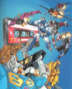 Cassette transformers from Studio Ox