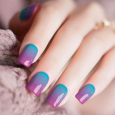 Use the alcohol wipe that comes inside of the nail kit, apply the real nail polish stickers, then file the excess. All of our Candied Nail stickers are safe and non-toxic. Cute Acrylic Nail Designs, Cute Acrylic Nails, Cute Nails, Pretty Nails, Nail Art Designs, Girls Nail Designs, Colored Acrylic Nails, Ombre Nail Designs, Teal Nails