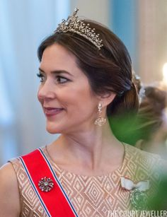 The Daily Diadem: Crown Princess Mary's Edwardian Tiara | The Court Jeweller