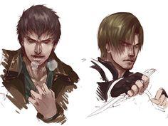 [Resident Evil:Damnation]Leon/Buddy by eilinna.deviantart.com on @DeviantArt
