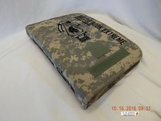 U.S. ARMY NATIONAL GUARD! BATTLE BOOK EXTREME NOTEBOOK! DIGITAL CAMO! AS IS!
