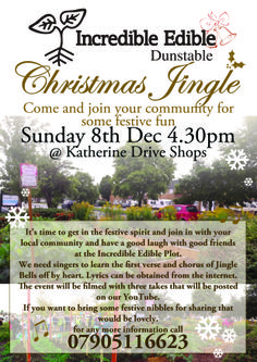 Sounds like fun!! And such an amazing community project. Read all about it in out December /January Dunstable issue.