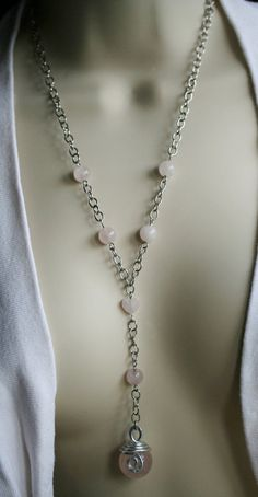 Sweet baby pink! Rose Quartz is one of THE colors for 2016, but the gemstone Rose Quartz is ALWAYS in season with its joyful LOVE energy! Rose Quartz, Love Stone, emits a strong vibration of unconditional love, compassion, joy, warmth, peace & healing, resonating into its surrounds & those nearby, dissolving tension, anxiety, anger & resentment. Not only does it heal the emotional body, it is also beneficial to the physical heart and resonates with the Heart and High Heart Chakras.