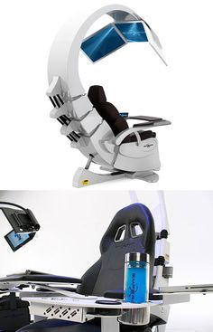 Futuristic Emperor 200 Workstation Might Be Craziest Ever, Costs $50,000 - TechEBlog