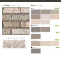 Savannah grey brick old savannah colonial collection exteriors pinterest grey savannah - Breathable exterior masonry paint collection ...