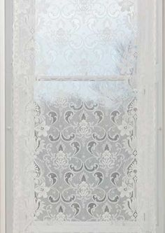 This Nottingham pattern, Islay, of Cotton Lace, in my never humble opinion, is perfect for an Arts and Crafts decor.  Starting at $69.95.