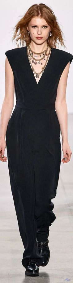 Fall 2020 RTW Nicole Miller Sophisticated Style, Elegant, Nicole Miller, Fashion Labels, Glamour, Overalls, Womens Fashion, Fashion Trends, Jumpsuit