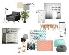 pokoj terapeutyczny_dzieci by magdalena-grycz on Polyvore featuring interior, interiors, interior design, dom, home decor, interior decorating, Comfort Research, Abbyson Living, PBteen and Nearly Natural